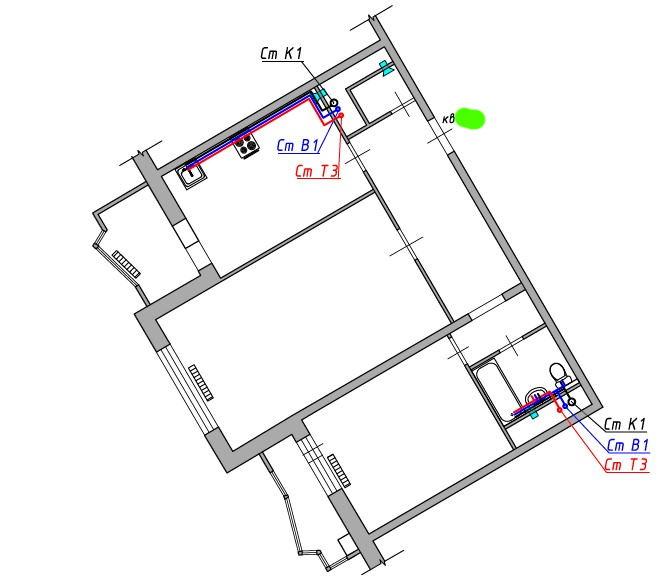 Согласование перепланировки 2 комнатной квартиры Павшинская пойма